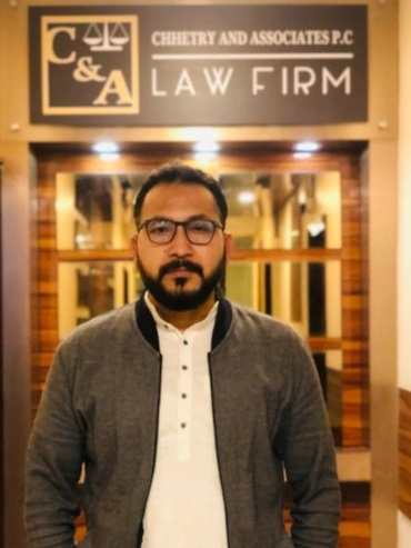 Advocate Samindra Dhowj G.C